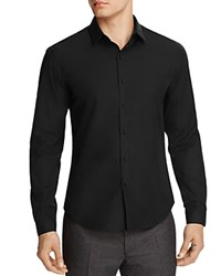 Sandro Affinity Slim Fit Dress Shirt 100 Bloomingdale's Exclusive Black
