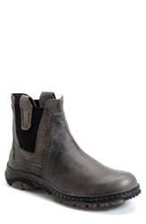 Born Men's Born 'Hamilton' Chelsea Boot Charcoal Deep Grey Suede