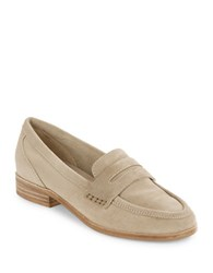 Seychelles Tigers Eye Suede Loafers Sand