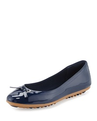 Juliet Escape Ballerina Flat Blazer Blue Cole Haan