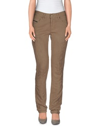 Diesel Black Gold Casual Pants Khaki