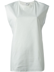Helmut Lang Loose Fit Tank Top White