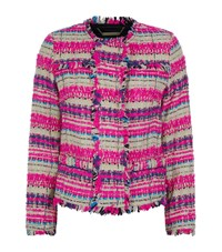 Juicy Couture Tweed Co Ord Jacket Female Pink