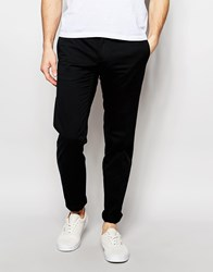 United Colors Of Benetton Slim Fit Chinos Black