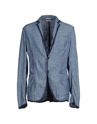 Cycle Suits And Jackets Blazers Men Blue