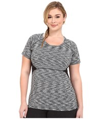Soybu Plus Size Evelyn Tee Black Women's Short Sleeve Pullover