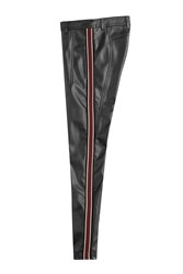Faith Connexion Faux Leather Pants Black
