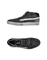 Primabase High Tops And Trainers Steel Grey