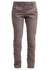 Tom Tailor Jeans Tapered Fit Dusty Iron Grey Taupe