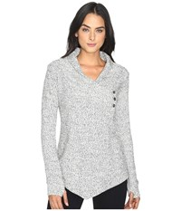 Tonic Expansion Wrap Cookies And Cream Women's Sweater Gray