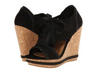 Not Rated Cantina Black Women's Wedge Shoes