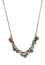Konplott Waterfalls Necklace Bunt Messingfarben Multicoloured