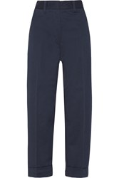 Acne Studios Twill Wide Leg Pants Blue