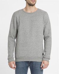 Forvert Mottled Grey Bardo Round Neck Sweater