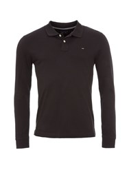 Eden Park Cotton Blend Polo Shirt Black