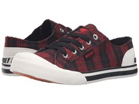 Rocket Dog Jazzin Red Altan Women's Lace Up Casual Shoes