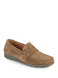 Vince Alan Leather Loafers Ocean