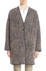 Lafayette 148 New York Women's 'Katya' Reversible Boucle Coat