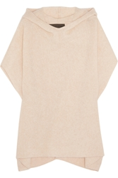 The Elder Statesman Effa Cashmere And Silk Blend Poncho