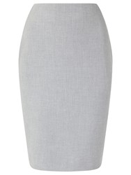 Precis Petite Eliza Tailored Pencil Skirt Light Grey