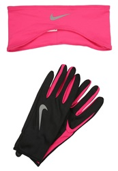 Nike Performance Gloves Black Vivid Pink