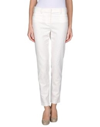 Thakoon Addition Casual Pants Ivory