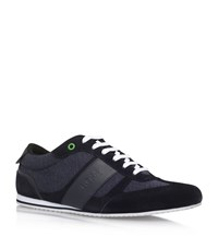 Hugo Boss Lighter Influence Trainers Male Navy