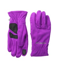 Columbia Thermarator Glove Bright Plum Extreme Cold Weather Gloves Red