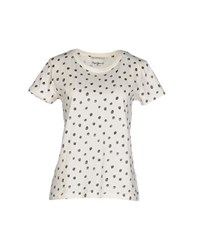 Pepe Jeans Topwear T Shirts Women Ivory