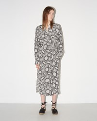 Rachel Comey Tibbs Dress Charcoal Cream