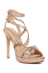 Chinese Laundry Highlight Strappy Platform Pump Green