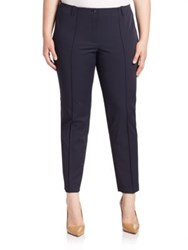 Basler Plus Size Lea Skinny Pants Navy