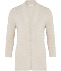 Cc Edge To Edge Cardigan Beige