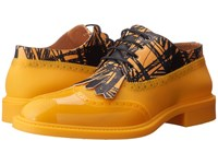 Vivienne Westwood Lace Up Brogue Yellow Black