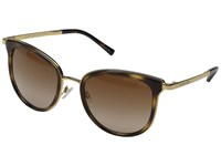 Michael Kors 0Mk1010 Dark Tortoise Gold Fashion Sunglasses Brown