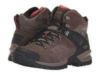 Hi Tec Mount Diablo I Waterproof Smokey Brown Red Rock Men's Shoes