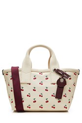 Marc By Marc Jacobs Canvas Printed Fruit Small Tote Multicolor