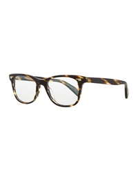Oliver Peoples Ollie Rounded Tortoise Fashion Glasses