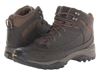 The North Face Storm Mid Wp Leather Coffee Brown Coffee Brown Men's Hiking Boots Gold