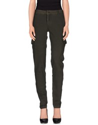 Deha Trousers Casual Trousers Women Military Green