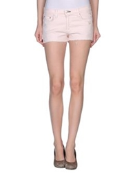 Rag And Bone Rag And Bone Jean Denim Shorts Light Pink