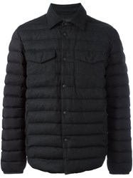 Z Zegna Shirt Blouson Jacket Black