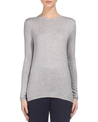 Whistles Annie Sparkle Knit Sweater Pale Grey