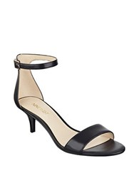 Nine West Leisa Kitten Heel Sandals Black