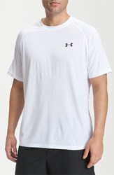 Men's Under Armour 'Ua Tech' Loose Fit Short Sleeve T Shirt White