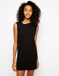 Vero Moda Gathered Sleeveless T Shirt Dress Black