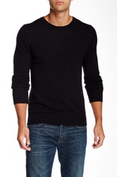 J. Lindeberg Crew Neck Kashmerino Sweater Black