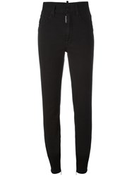 Dsquared2 Twiggy High Waisted Jeans Black