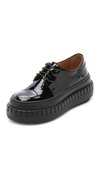 Acne Studios Sacha Laced Platform Loafers Black