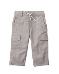 Hang Ten Drawstring Cargo Pants Grey